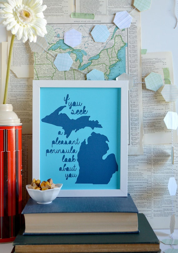 Wall Decor For Lake House : Items similar to lake house art cabin decorations