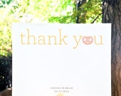 Sweet You Thank You Cards - Recycled Paper - 50 Cards