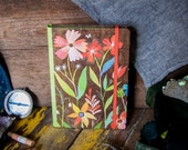 Kraft Floral Notepad Folio | Notebook | Journal | Katie Daisy