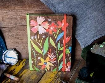 Kraft Floral Notepad Folio | Notebook | Journal | Katie Daisy