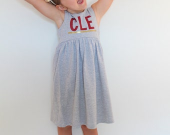 Limited Edition Cleveland, Ohio Dress, Gray, made to order