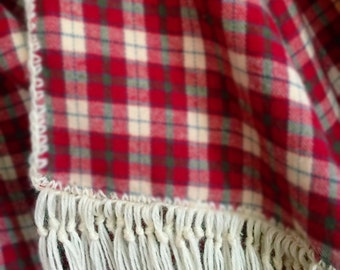 Oversize Flannel Scarf for Men and Women