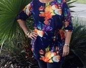50% OFF The Sazerac Shift Dress for Women, womens dress tunic sewing pdf pattern, womens pdf sewing pattern, seamingly smitten