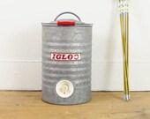 vintage water cooler, igloo cooler, drink dispenser, picnic, camping, ice bucket, drink cooler, vintage wedding decor, country primitive