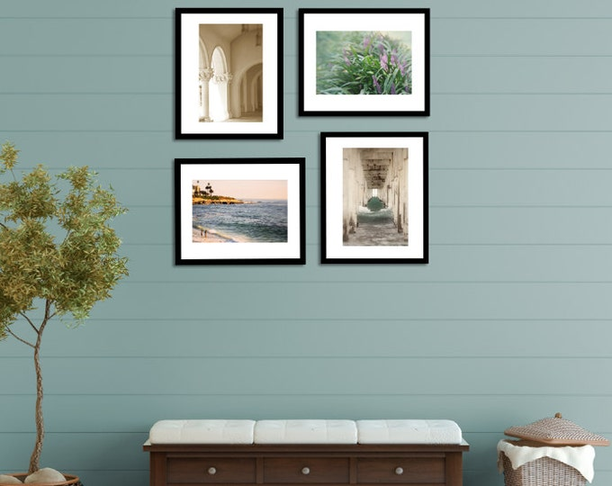 California Coastal Photo Print Set for your Beach House Decor - 4 sizes available