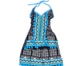 Tribal Kid Fashion Dress for Girls Hmong Textile from Thailand (AP7652-7C12)