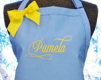 Personalized Apron Gourmet Chef Style Housewarming Gift
