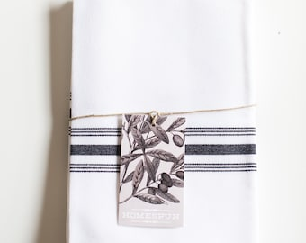 Striped Napkin or Tea Towel Set