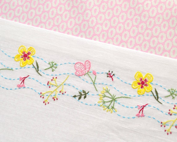 Flowers Embroidery Pattern Hand Embroidery Floral