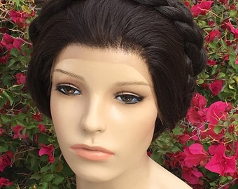 Leia Star Princess Wars Hoth Professional Lace Front Wig