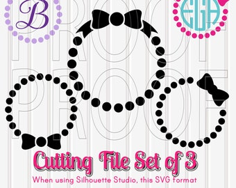 Monogram SVG Files Set of 3 in SVG, PNG, & jpg formats. Commercial Use ok! Tumblers, shirts, cupcake toppers etc! {no letters included}