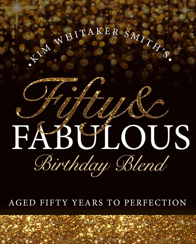 50 Fabulous Ways To Wear Glitter Nails Like A Boss: Custom 50 & Fabulous Wine Labels Print It Yourself Digital