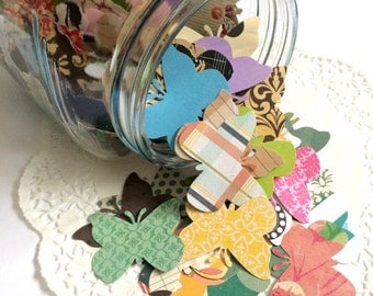 Butterfly Punches. Butterfly Die Cut. Paper Butterfly. Scrapbook Confetti. Embellishment. Planner Accessories. Smash Book. Paper Punch.