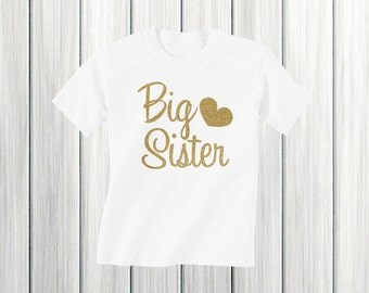 Big Sister Shirt Girl clothes Girl Big Sister Shirt Pregnancy Announcement Shirt I'm going to be a big sister Big sister announcement shirt