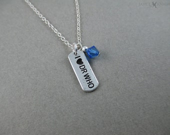 I (Heart) Dr Who Charm Necklace - Silver Charm