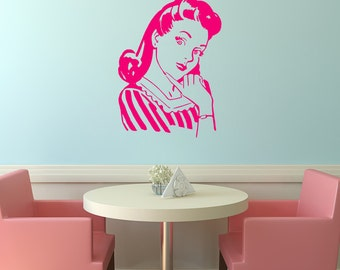 Funny Wall Decal Etsy - Vintage wall decals