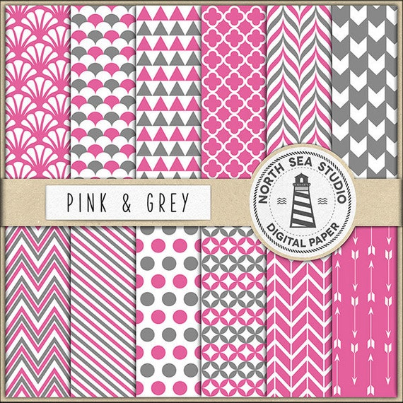 Gray Scrapbook Printable Paper Pretty Picturesboss
