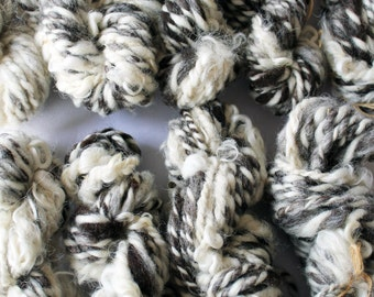 Natural Weaving Yarn   Made From Scratch   Border/BFL + Leicester Longwool + Finnish Landrace   10 yards, 1 ounce