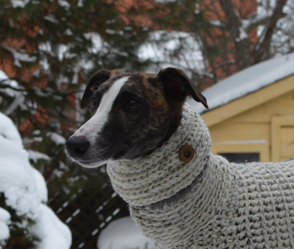 Knitting Pattern For Whippet Coat : Whippet Clothing Knit Dog Cowl Whippet Cowl Dog CowlDog