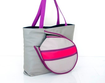 Medium size tennis bag, custom design available!!!