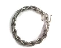 Dark Grey Leather Watch Strap - Adjustable Watch - Interchangeable Strap - Womans Watch - Ladies Watch - Girls Watch - Grey Watch - Gray