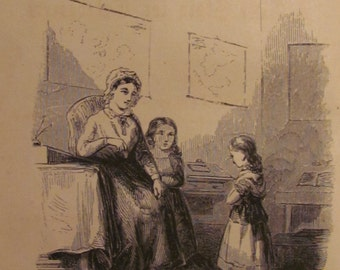 1852 'Lizzie Eames: A True Story for Talebearers' Published by The American Sunday School Union Philadelphia