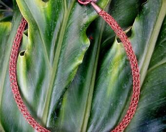 Viking weave choker necklace (Copper)