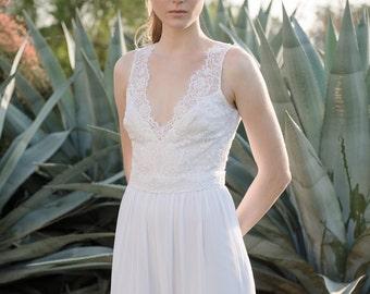 Lace Wedding Dress Romantic Boho Unique