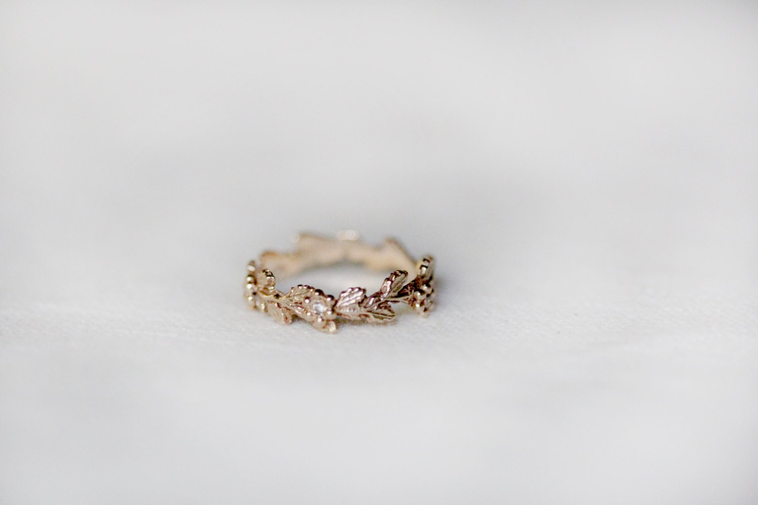 Leaf Wedding Band Now Heres A Wedding Ring For A Kansas Girl Sheaves Of  Wheat Zoom