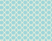 Cotton fabric by the yard - Kumari garden Tarika blue Dena Designs - NOT laminated
