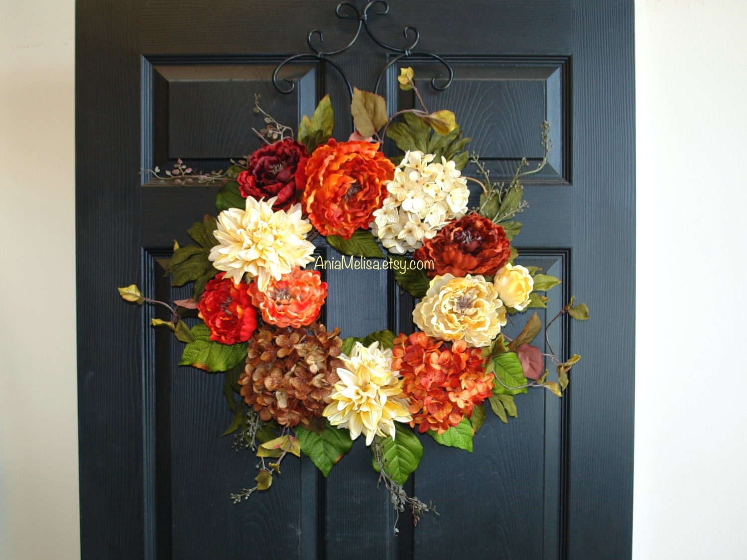 Fall Wreath Fall Wreaths For Front Door Wreaths Outdoor