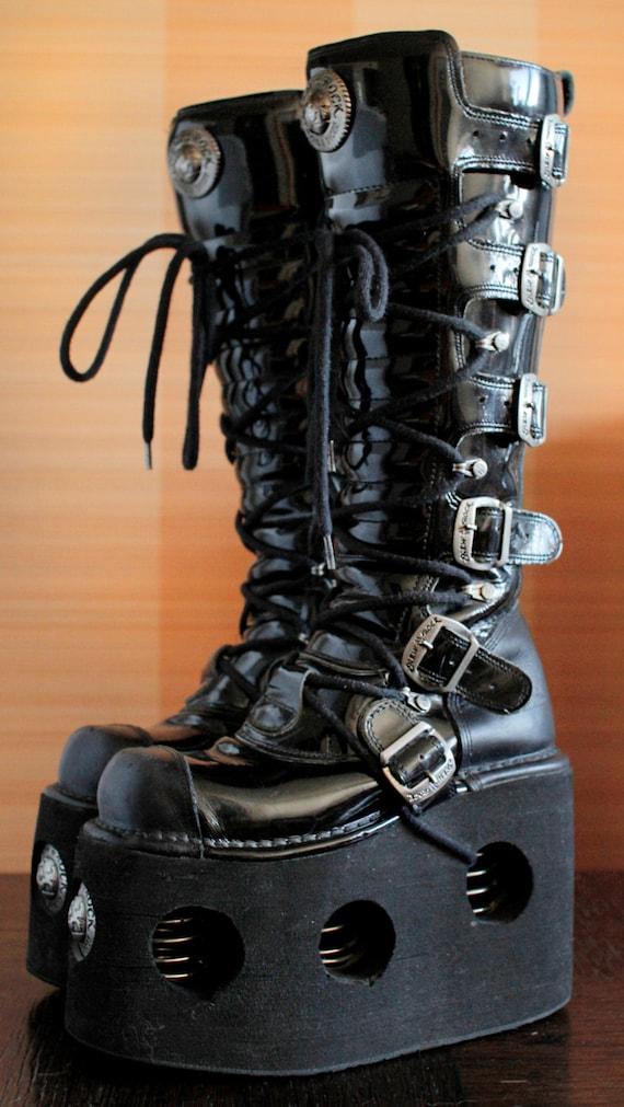 White Steampunk Shoes