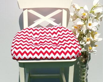 Indoor Seat Cushion: Polka Dots-Red, Black, Brown, Green, Pink, Chevron-Red, Green, Blue, Orange, Patterns Variety Décor Seat Cushions