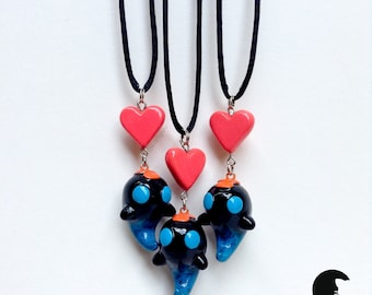 Bastion - Squirt Lure Charm Necklace