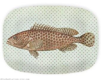 Fish Platter no.2 melamine platter