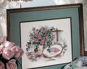 Delicate Beauties by Paula Vaughan Cross Stitch Leaflet 2742