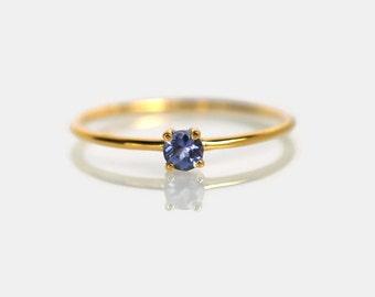 gold tanzanite ring, gemstone ring, bithday gift, tanzanite engagement ring, gold tanzanite ring, promise ring