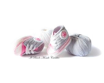 Baby Booties Baby Converse Crochet Converse