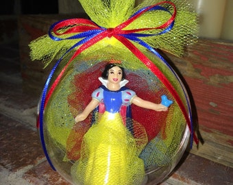 Snow White Globe Ornament