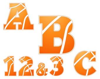 Basketball svg, svg file for cricut, cricut download, basketball clipart, basketball font svg, basketball monogram, svg basketball, BK6