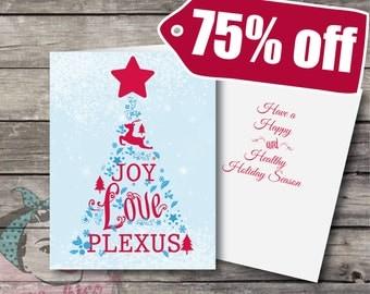 Plexus Christmas Cards with Envelopes SALE