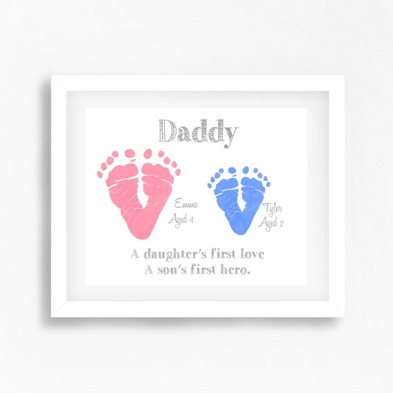 Unique gift for dad from children personalised daddy for Creative gifts for dad from daughter
