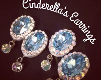 Cinderella inspired earrings