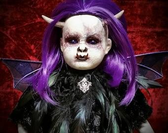 "Meet ""Lex""! Ooak, horror, creepy doll from your nightmares."