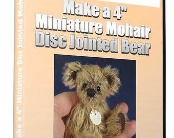 Access to ALL 5 Online VIDEO Teddy Bear Workshops -1 YEAR Membership Teddy Bear Academy.   Free Teddy Bear Patterns!