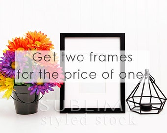 Empy Frame Background / Styled Stock Photography / Blank Frame / Mock up / Styled Image / Frame Mock Up / Frame Background / StockStyle-634