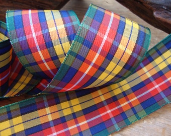 Buchanan Plaid Ribbon