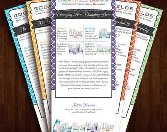 Rodan + Fields, Business Opportunity, Product Cards