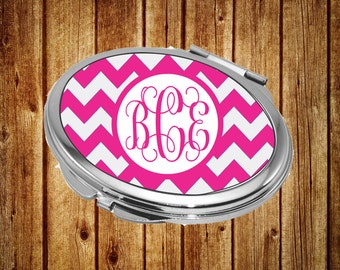 Personalized Compact Mirror, Mother of the Bride Compact Mirror, Personalized Gift, Monogram Compact Mirror, Monogram Pocket Mirror