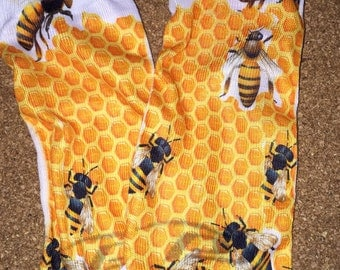 Honeycomb bee Socks